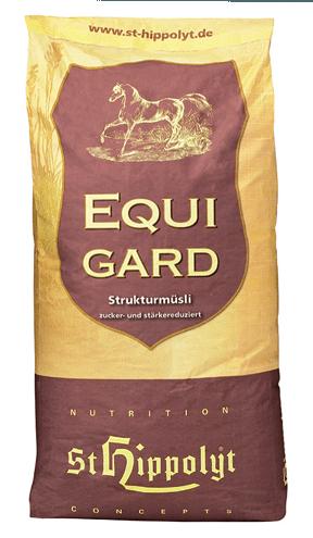 Equigard, St Hippolyt, foder för fånghästar, EMS