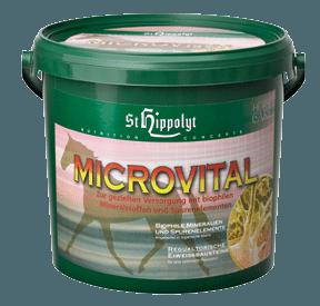 St Hippolyts MicroVital - koncentrat av organiskt bundna spårämnen för häst
